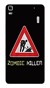 Back Cover for Lenovo K3 Note Zombie Killer
