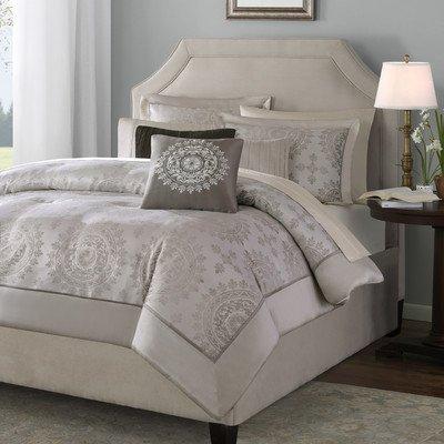 Tiburon 12 Piece Comforter Set Size: Queen front-845601