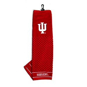 Buy Indiana Hoosiers Embroidered Towel from Team Golf by Team Golf