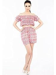 Malini Abstract Print Shorts