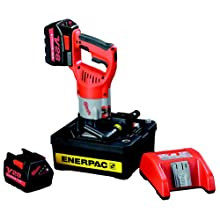 Enerpac BP124-E Battery Powered Hydraulic Pump with 230 Volt Charger
