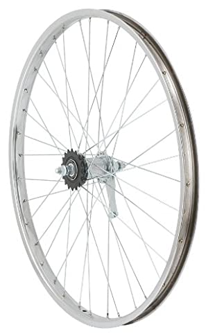 Avenir 36H Nutted Cruiser Style Rear Wheel with Coaster Brake
