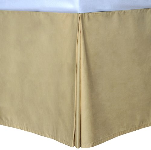 Wheat Queen Cottonloft Colors Bed Skirt front-642519