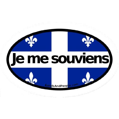 Amazon.com: Je Me Souviens - I remember - Quebec Motto French Canada