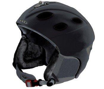 Ski- und Snowboard-Helm KED Global, Farbe:Black matt;Größe:M