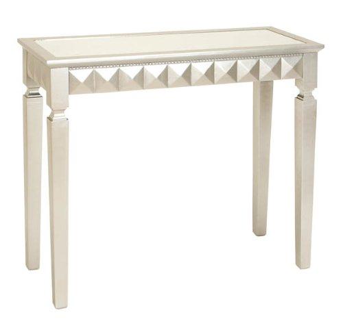 Image of Elegant Wood Mirror Console Table (B006AALT4U)