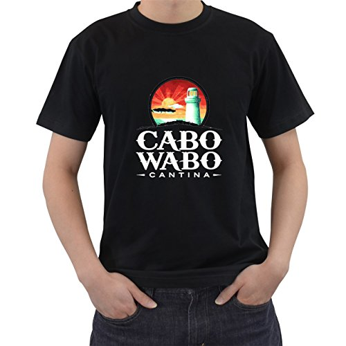 Cabo Wabo T2 T-Shirt Short Sleeve By Saink Black Size S