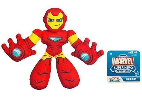 MARVEL Super Hero Adventures PLAYSKOOL HEROES IRON MAN Figure - 1