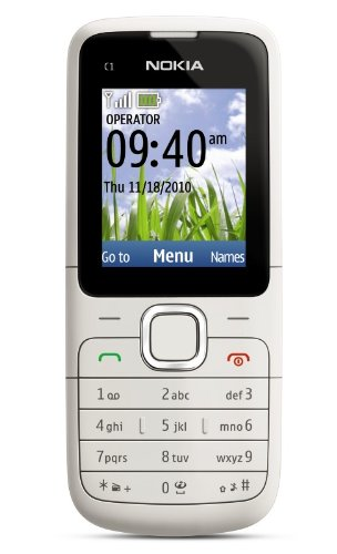Nokia C1-01 Unlocked GSM Phone - U.S. Version with Warranty (Warm Gray)