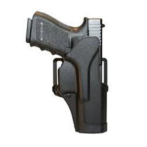 Blackhawk Sportster Standard Holster With Belt Loop And Right Paddle With Matte Finish (Glock 26/27/33) front-28042
