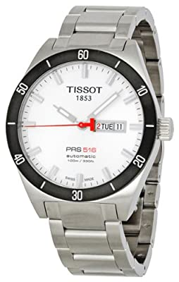 Tissot Men's T0444302103100 PRS 516 Day-Date Calendar Watch by Tissot