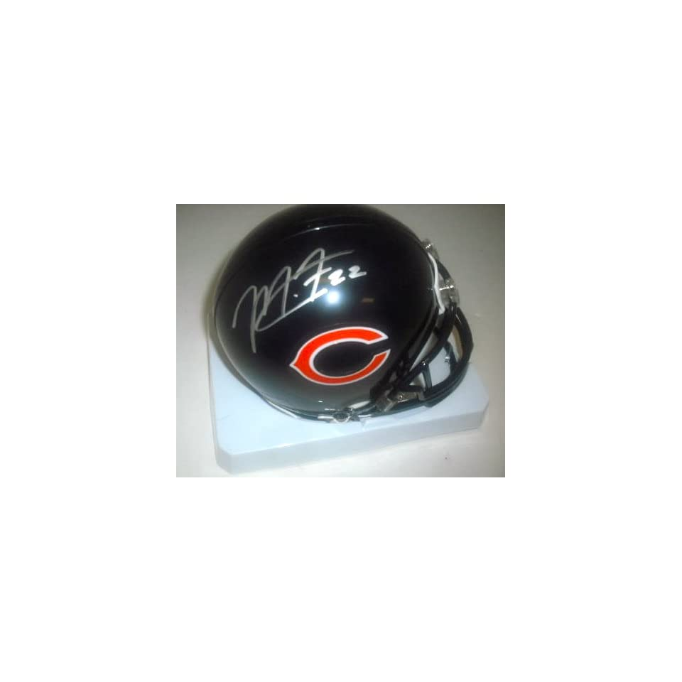 Matt Forte Chicago Bears Hand Signed Autographed Mini Football