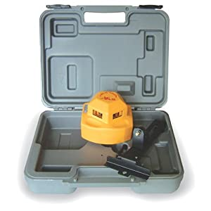 PLS Laser PLS-60526 PLS360 360 Degree Laser Level Tool, Yellow