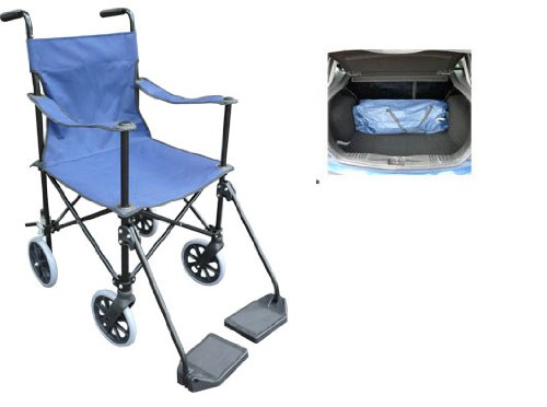 Lightweight Folding Wheelchair / Transport Chair (921) Ultra compact for ease of use. Ideal for travel.