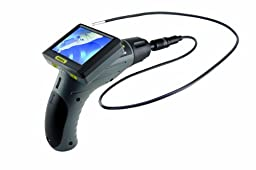 General Tools DCS355 Seeker 355 Video Inspection System with 3.5 Inch Screen and 5.5MM Diameter and 1 Meter Long Probe