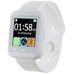 Padgene Bluetooth 3.0 New SmartWatch for Samsung S3 S4 S5 Note 2 Note 3 Note 4 HTC one M8 M9 Nexus 6 Sony and other Android Smartphones Black White