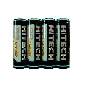Hitech - 4 AA Lithium 2900mAh Batteries