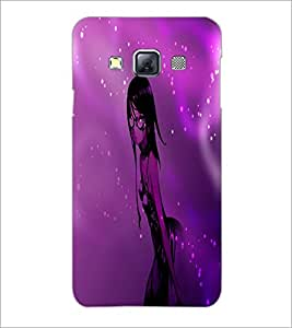 PrintDhaba Stylish Girl D-4008 Back Case Cover for SAMSUNG GALAXY A3 (Multi-Coloured)
