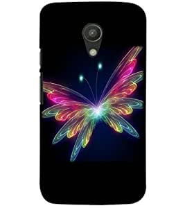 MOTOROLA MOTO G2 BUTTERFLY Back Cover by PRINTSWAG