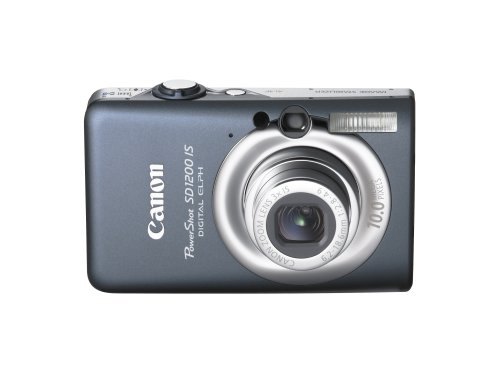417EosNDF7L Canon PowerShot SD1200IS 10 MP Digital Camera with 3x Optical Image Stabilized Zoom and 2.5 inch LCD (Dark Gray)