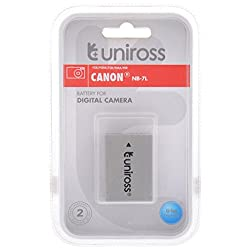 Uniross Battery for Canon Digital Camea (NB-7L)