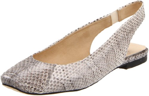 Stuart Weitzman Women's Snakey Flat,Roccia Sea Snake,9 M US