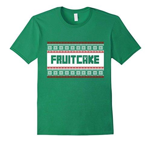 Men's Fruitcake Ugly XMas Sweater Tee Shirt Womens