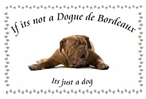 Dogue de Bordeaux - Novelty Dog keyrings - If its not