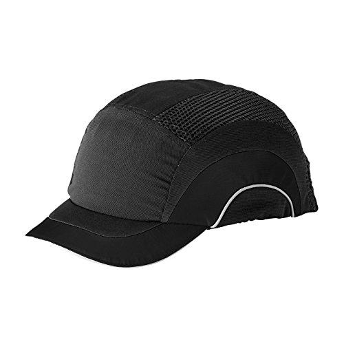 JSP HARD CAP SHORT PEAK BLK/GRY