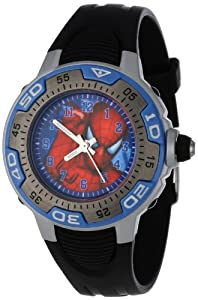 Marvel Comics Kids' MA0108-D535-Blue Marvel Spider-Man Spectrum Watch