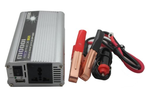 Dc 12v to Ac 220v Power Inverter 1000w Car Converter Electronic USB Port