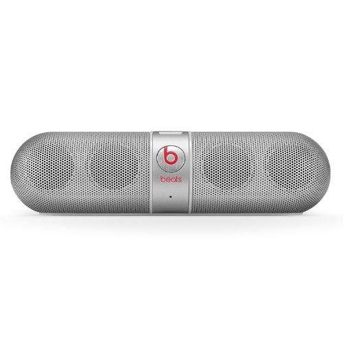 Beats Pill Portable Speaker (Silver) - Newest Model