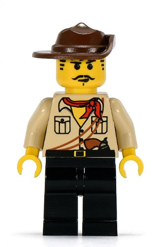 Lego Johnny Thunder Minifigure - 1