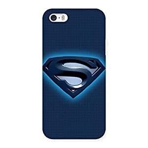 Impressive uper Blue Back Case Cover for iPhone 5 5S