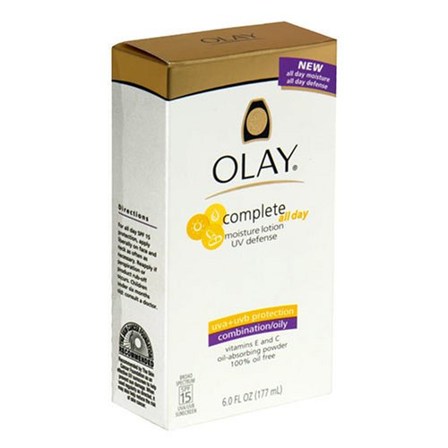 Buy Olay Complete UV Defense Moisture Lotion, SPF 15, 6-Ounce Bottles (Pack of 2)