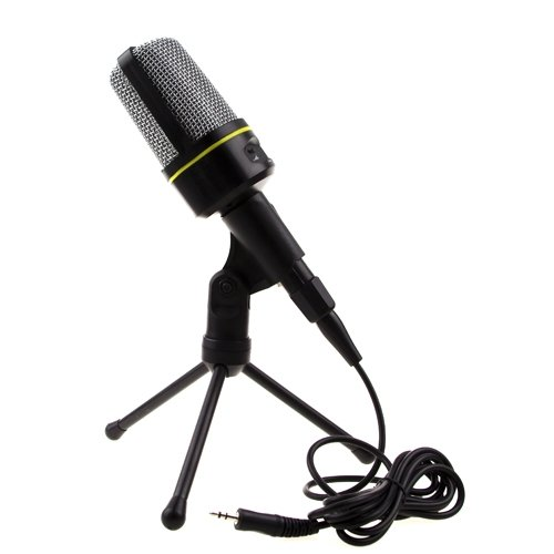 Professional Podcast Studio Microphone With Stand Skype Webcast Youtube Video **Laptop Parts Store**