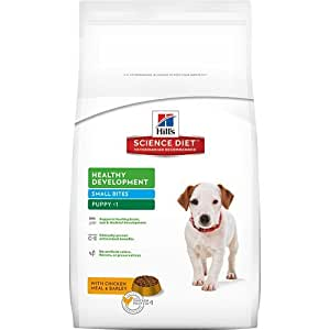 Hill's Science Diet Puppy Healthy Development Small Bites Dry Dog Food, 4.5-Pound Bag