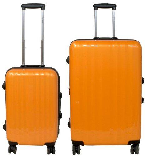 Kofferset 2 tlg. Trolleyset ABS Hartschale CAPRI