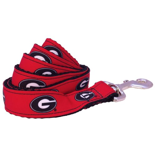 NCAA Georgia Bulldogs Dog Leash (Team Color, Large) (Bulldog Pet Clothing compare prices)