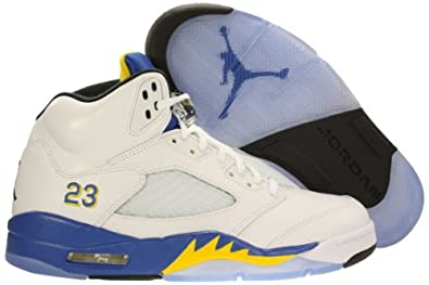 Nike Air Jordan 5 Retro Laney (GS) Grade School Basketball Shoes 440888-189 by Nike