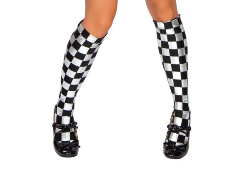 Roma Costume Checkered Stockings