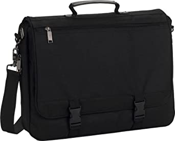 Liberty Bags Corporate Raider Expandable Briefcase - BLACK - OS
