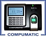 Compumatic xls bio finger recognition employee payroll time clock system