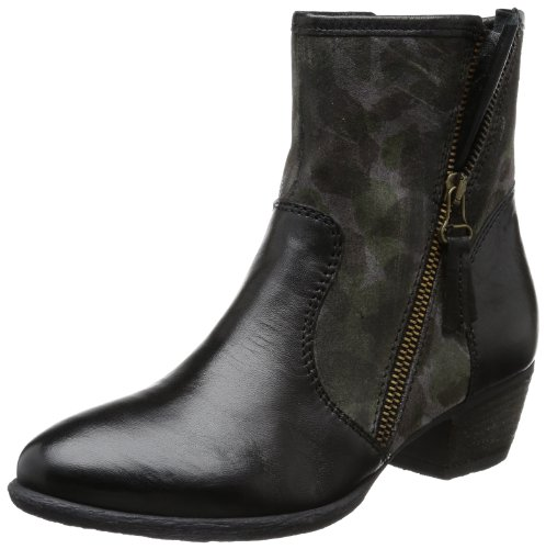 Mjus Women's 228222 Boots Black Schwarz (nero+grigio 8046) Size: 4 (37 EU)