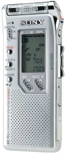 Sony Icd-St25 Portable Digital Voice Recorder