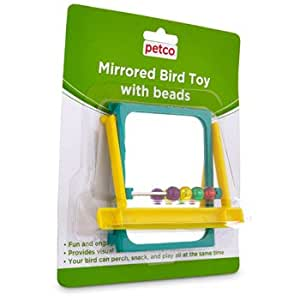 Petco mirrored bead bird toy 3 5 l x 4 w for Does petco sell fish