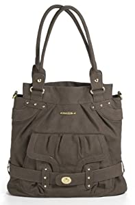 timi & leslie Louise Diaper Bag, Mushroom Brown