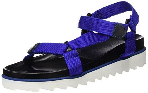 Sixtyseven 77402-Sandali Donna, Multicolore (Azul/Negro), 41