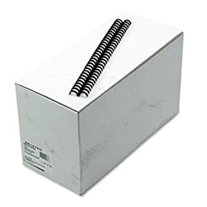 GBC ProClick Easy-Editing Binding Spines, 0.5-Inch Spine Diameter, Black, 85 Sheet Capacity, 100 Pieces Per Box (2514703)