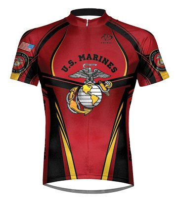 Buy Low Price Primal Wear Marines Tradition Eleven Cycling jersey Men's 4XL (MCT1J20M4)